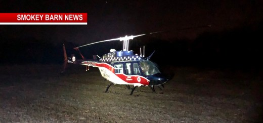 Medical helicopter Makes Emergency Landing In Orlinda