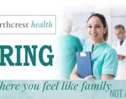 NorthCrest Offering Sign-On Bonuses For RN's