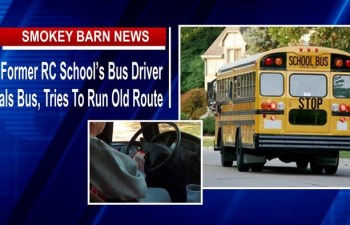 Former RC School's Bus Driver Steals Bus, Tries To Run Old Route