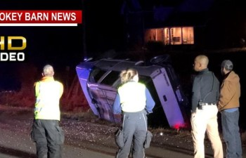 Minor Injuries In Rollover Crash Near Coopertown
