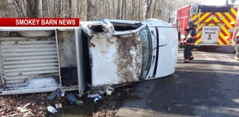 Two Escape Injury In Rollover Crash On Chambliss Road