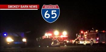 Three Die In Fatal I-65 head-On Crash Friday Night