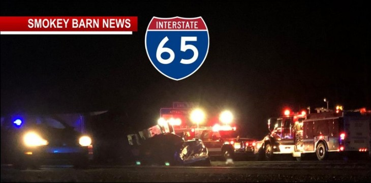 Three Die In Fatal I-65 head-On Crash Friday Night