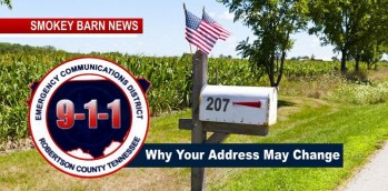 "Message From 911 - ""Why Your Address May Change"""