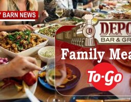 What's For Dinner At The Depot? Everything!
