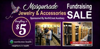 Masquerade Jewelry Sale (All $5) Set To Benefit NorthCrest Volunteer Program