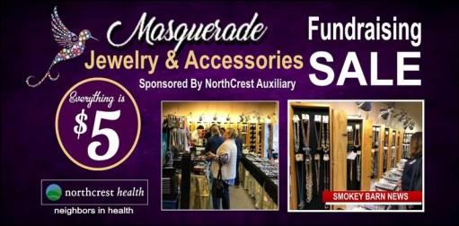 Masquerade Jewelry Sale (All $5) Set To Benefit NorthCrest Volunteer Program