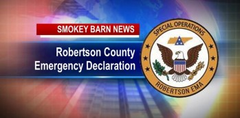 Robertson County Mayor Declares State Emergency