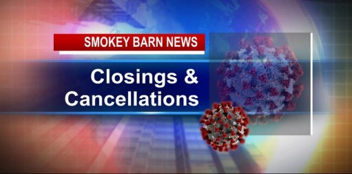 RC SR Center Closes & Other Local Closures/Cancellations