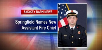 Springfield Names New Assistant Fire Chief