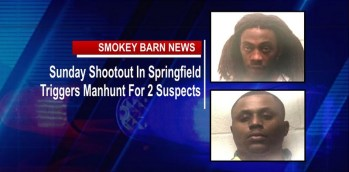 Sunday Shootout In Springfield Triggers Manhunt For 2 Suspects