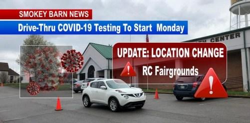Drive-Thru COVID-19 Testing To StartMonday In Robertson County