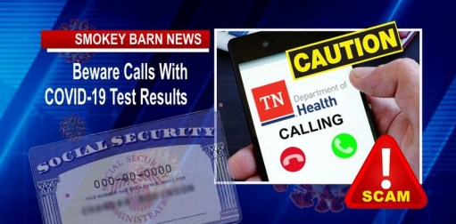 COVID-19 Testing Results SCAM Alert