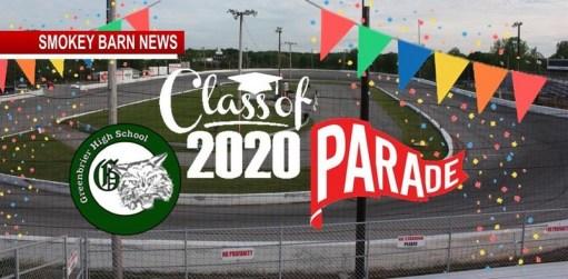 Veterans Motorplex To Host Greenbrier High Class of 2020 Senior Parade
