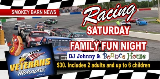 Racing, Family Fun Night, DJ & Veterans Parade Kicks Off Saturday At Veterans Motorplex