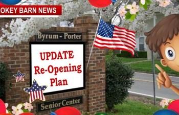 Orlinda: Byrum Porter Senior Center Re-Opening Plan…