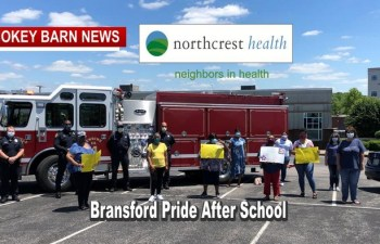 Bransford Pride Kids & Parents Salute NorthCrest Health Professionals