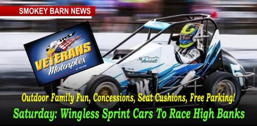 Tonight: Wingless Sprint Cars To Race High Banks At The Rim