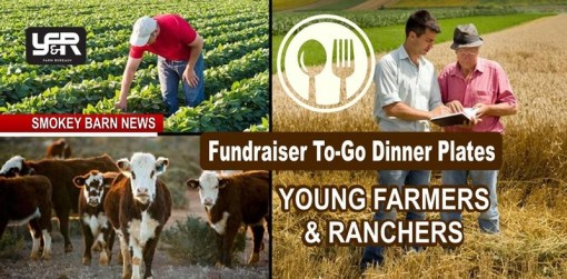 Young Farmers and Ranchers Scholarship Fundraiser (Dinner Plates)