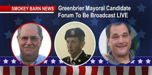 VIEW Greenbrier Mayoral Candidate Forum (Click Image)