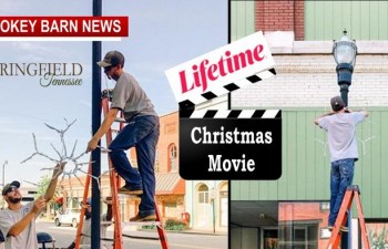 Film Crew Requests 90° Look At Christmas In Springfield