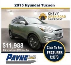 Payne 2015 hyundai tucson 2407b