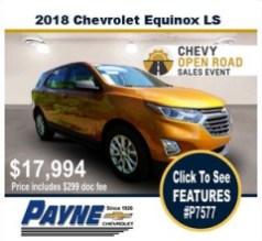 Payne 2018 Chev Equinox p7577