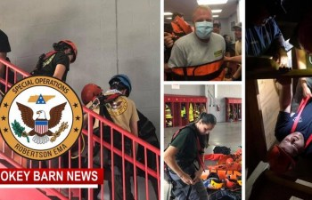 First Responders Train For Confined Space Rescue