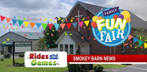 Fun Fair/Rides Sunday, Aug. 30 At Flewellyn Baptist Church