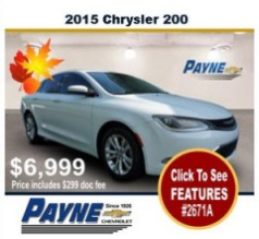 Payne 2015 Chrysler 2671A
