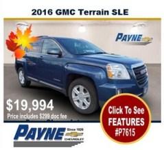 Payne 2016 GMC Terrain p7615