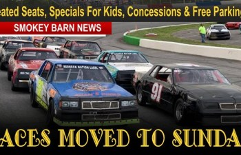 Greenbrier Track Moves Races To Sunday (Everyone Welcome) Heated Seats, Specials For Kids, Concessions & Free Parking