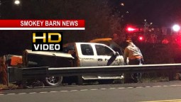 Driver Flees On Foot After Crash During THP Pursuit