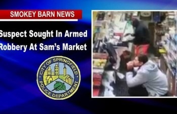 Springfield Market Robbed At Gunpoint, Suspect On The Run
