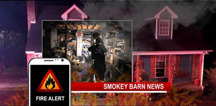While Out To Dinner, Home Fire Triggers Motion Detector Alert