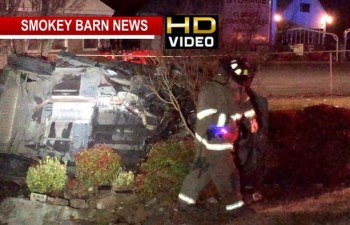 Driver Survives Fiery Rollover Crash In Springfield