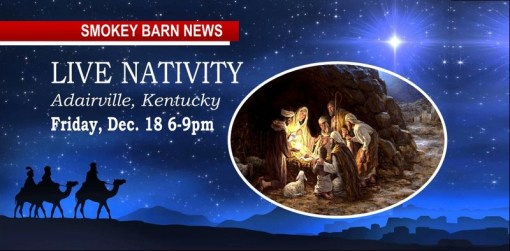 Adairville Live Nativity Invites Robertson County Residents