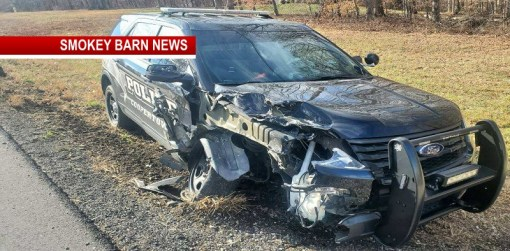 Coopertown Officer Recovering Following Crash