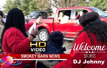 Hundreds Turn Out For DJ Johnny Homecoming Benefit Parade