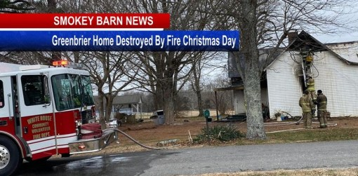 Greenbrier Family Displaced After Christmas Morning Fire