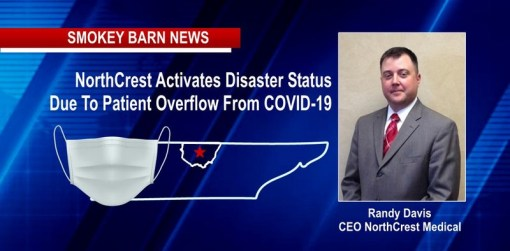 NorthCrest Activates Disaster Status Due To COVID-19 Case Spike Overnight