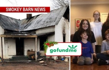 Christmas Morning Home Fire Prompts GoFundMe For Displaced Family