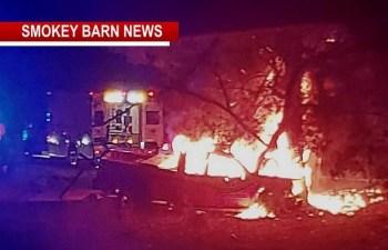 Fiery Crash Takes One Life Near Cross Plains Thursday