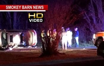 Driver OK Following Rollover Crash Near Cedar Hill