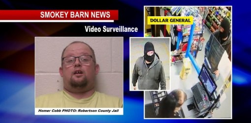 Ridgetop Man Charged In Dollar General Robbery