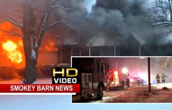 VIDEO: White House Area Family of 5 Loses Home In Massive Fire