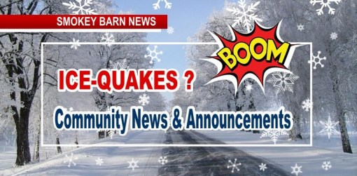 Is Robertson County Having Ice-Quakes? & Other Community News