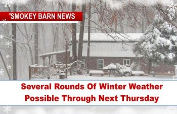 Several Rounds Of Winter Weather Possible Through Next Thursday