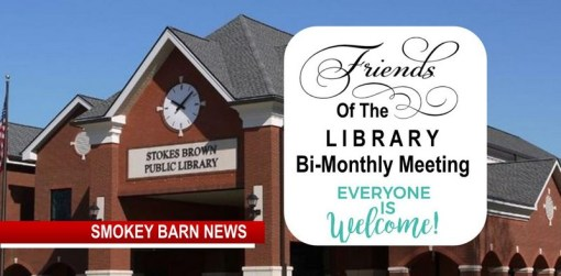 "Learn More About The ""Friends of The Library"" This Wednesday"