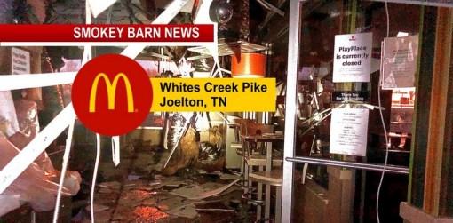 Grease Fire Ignites At Joelton McDonald's